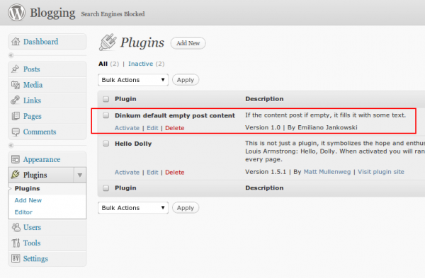 How to write wordpress plugin