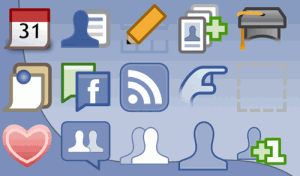Facebook Icons, fun all the way