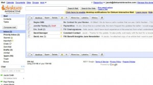 Google Apps / Gmail (before)