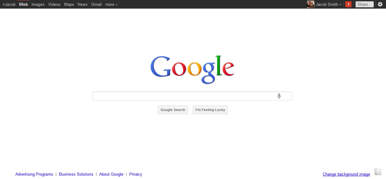 A look at google 39 s recent design binge internet marketing philadelphia - Google home page design ...