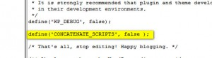 Before you rip your hair out, add this to your wp config file!